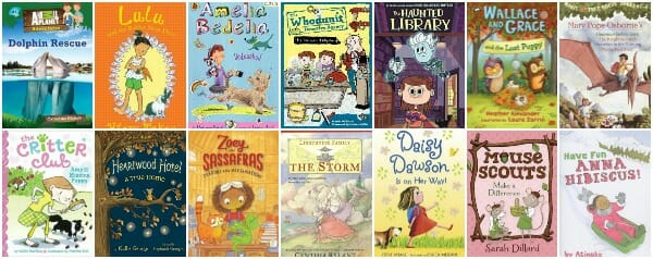 easy chapter book list for girls with polite, kind characters