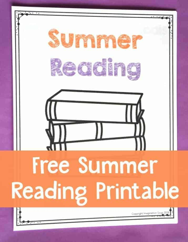 free summer reading printable