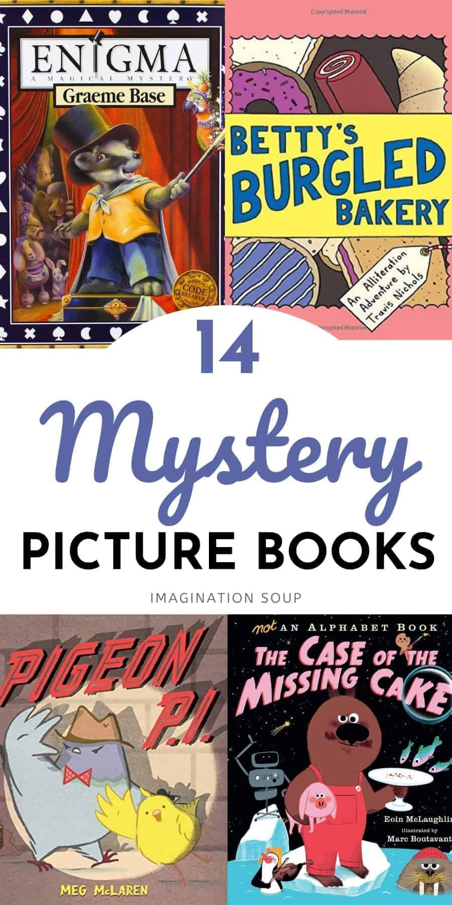 good mystery picture books for kids