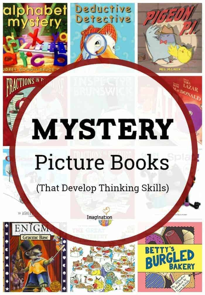 mystery picture books that develop thinking skills in kids