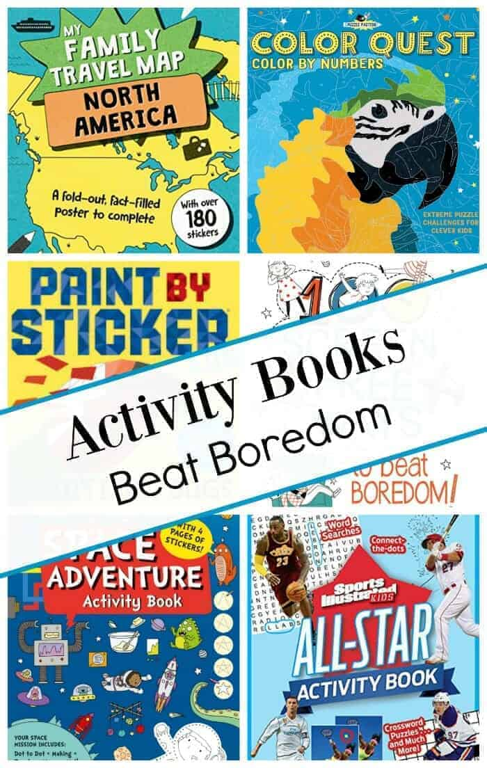 new activity books for kids, spring 2018