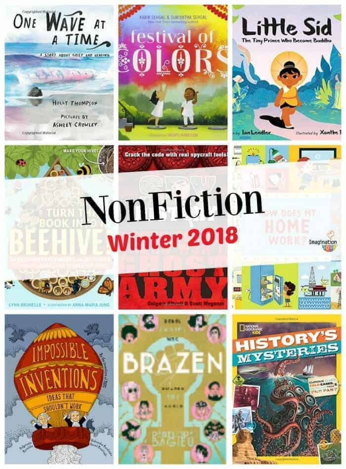 new nonfiction books for kids, winter 2018