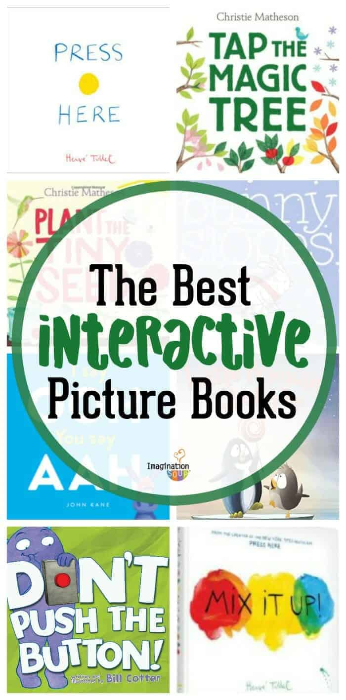 the best interactive children's picture books that kids love #kids #childrensbooks