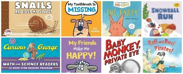 8 New & Exciting Easy Reader Books