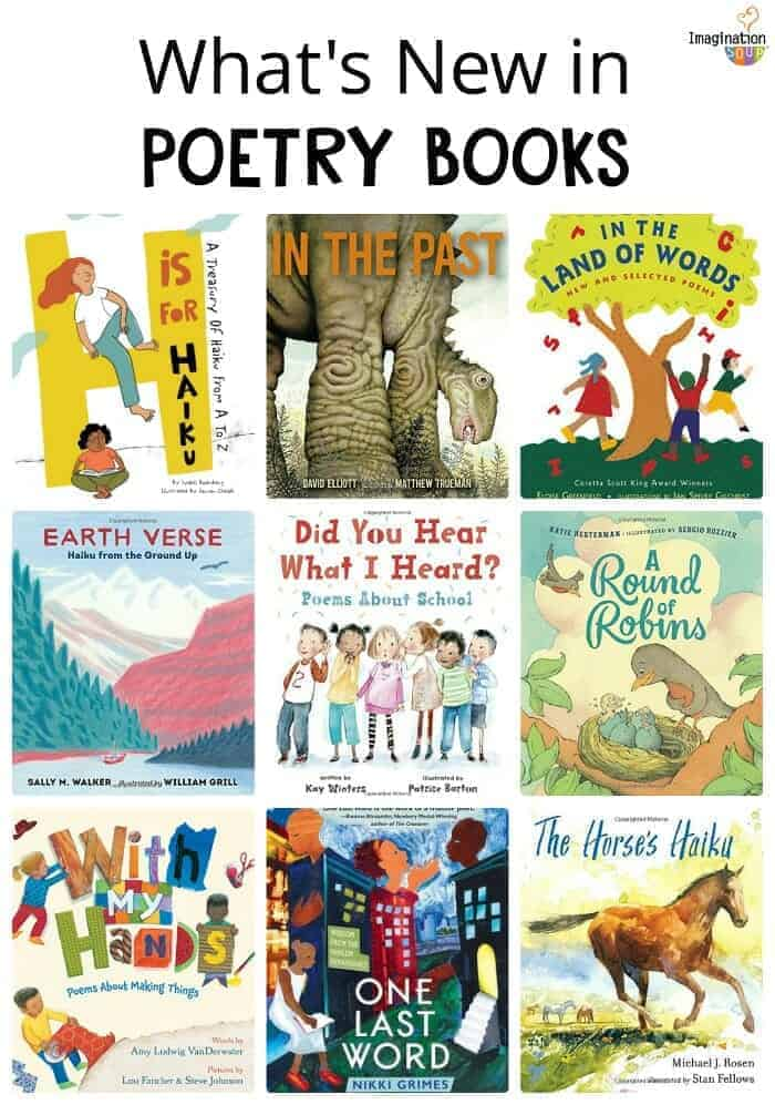 new poetry books for kids that you don't want to miss (2018)