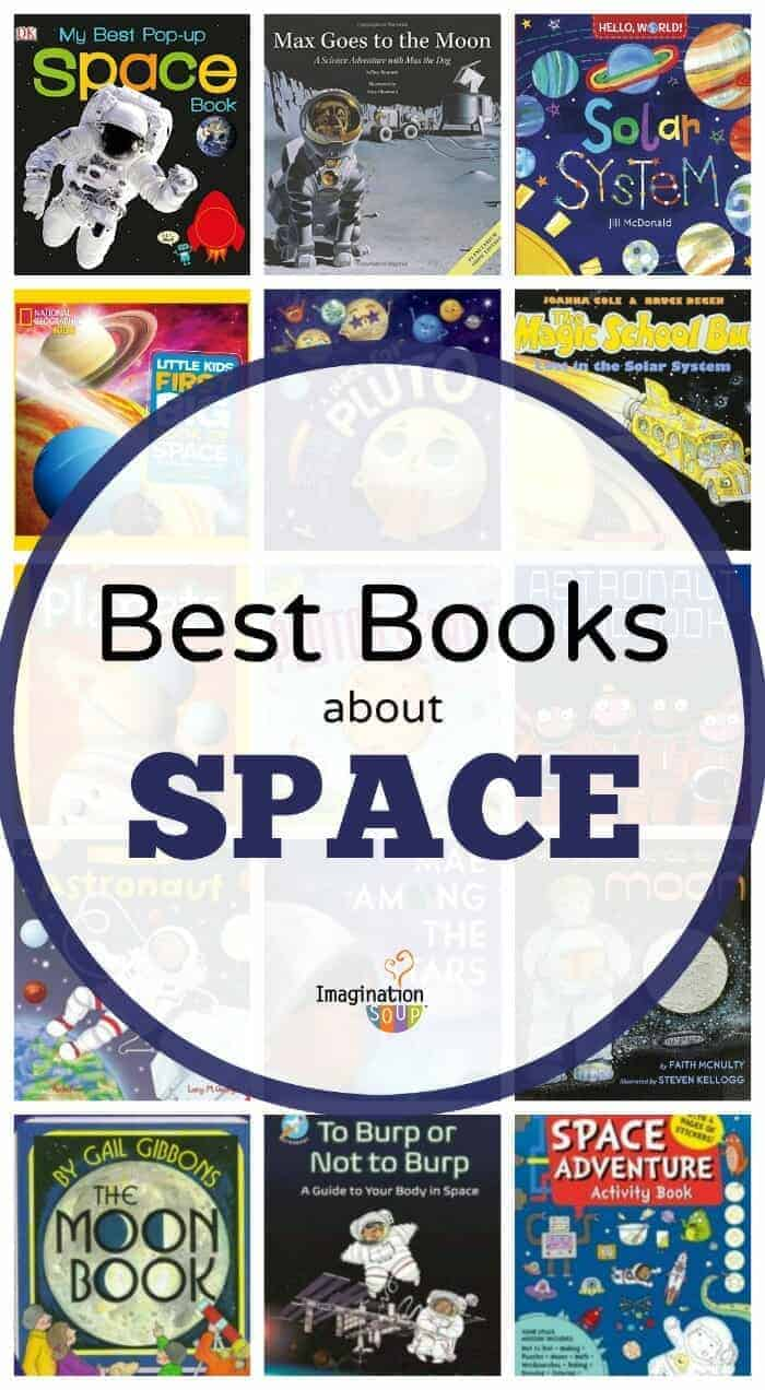 Best Books for Kids About Space, Solar System, Planets, Astronauts. Stars, and Moon
