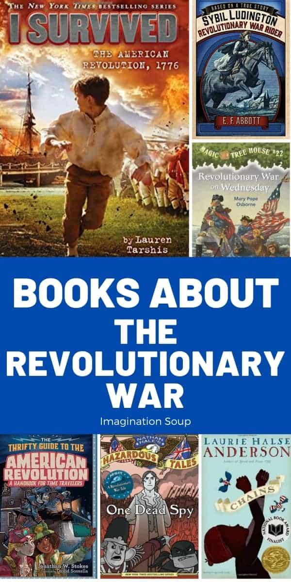 Best Chapter Books about the Revolutionary War