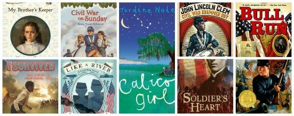 historical fiction books for kids Civil War