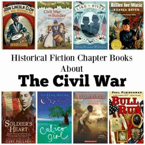 Literature Fiction: Historical Fiction Chapter Books About The (American