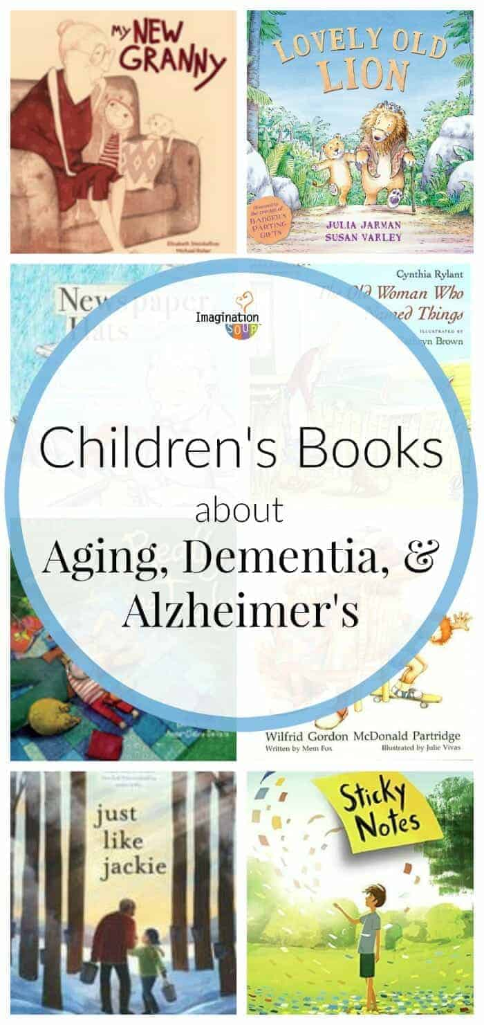 children's books about growing older, memory loss, and dementia