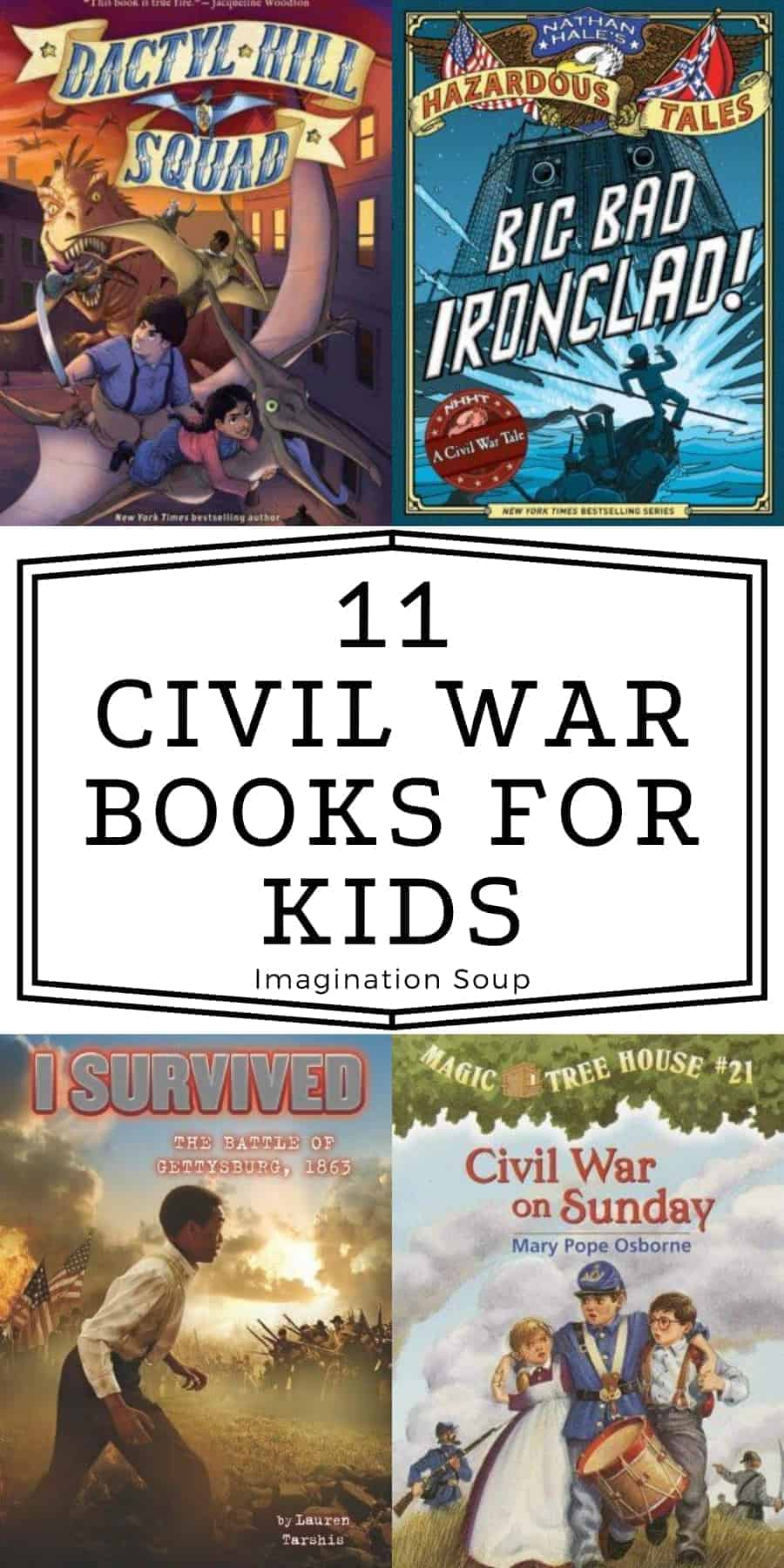 children's chapter books about the Civil War