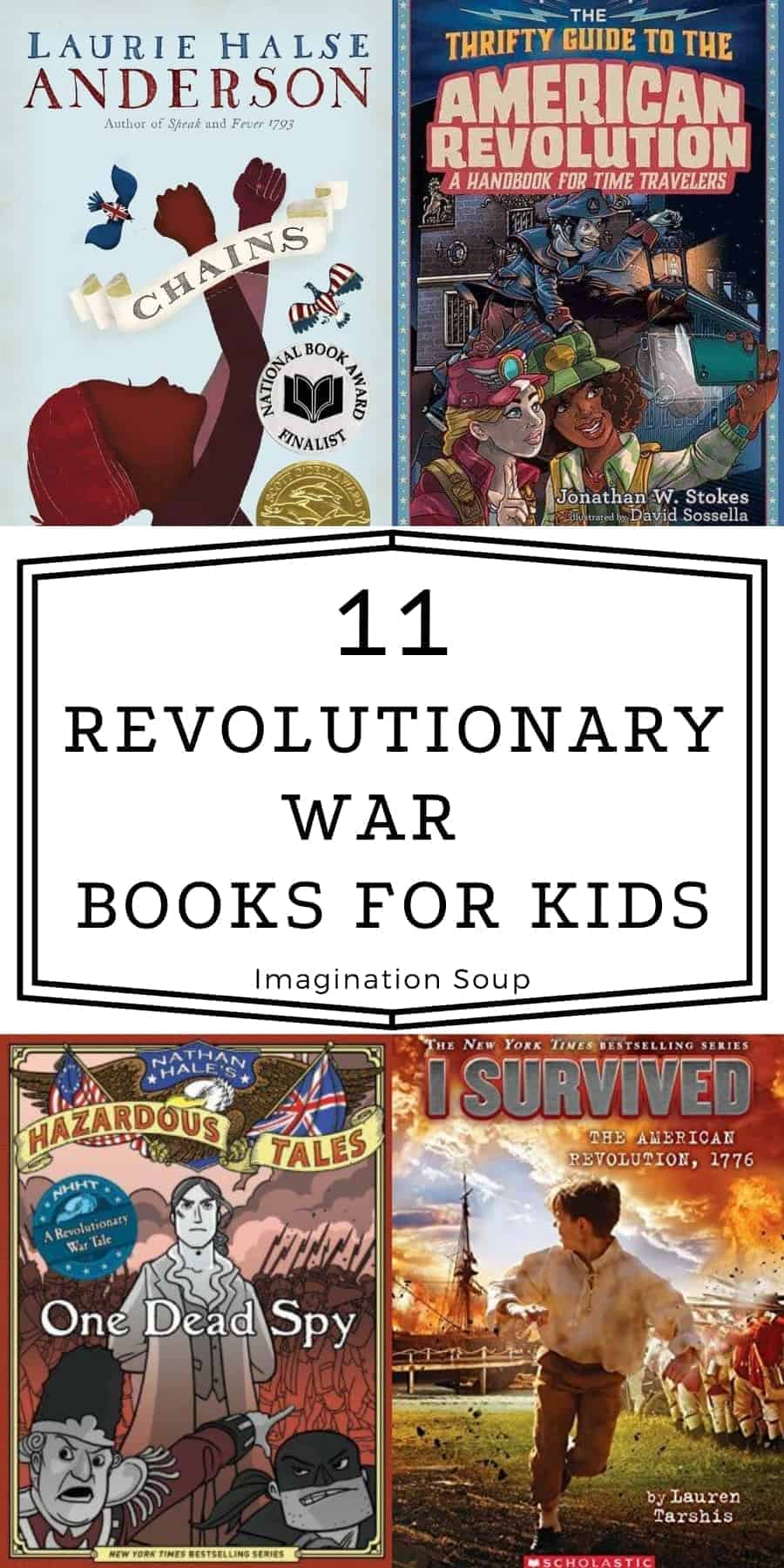 children's chapter books about The Revolutionary War