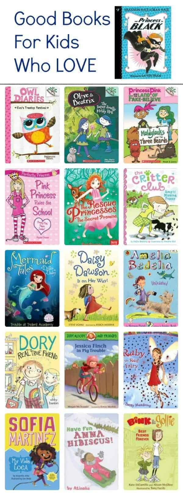 good books for kids who love The Princess in Black