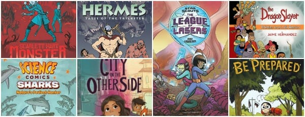graphic novels middle grade 2018