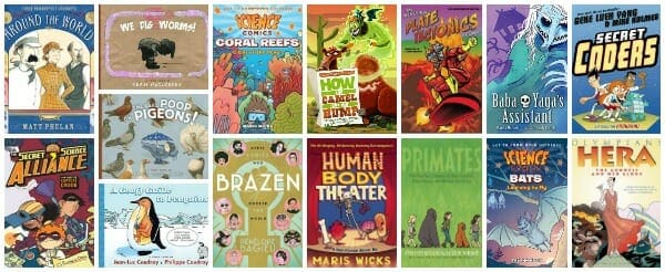 graphic novels teachers should use in the elementary and middle school classroom