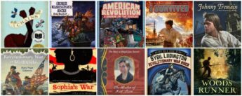 historical fiction books for kids about the Revolutionary War