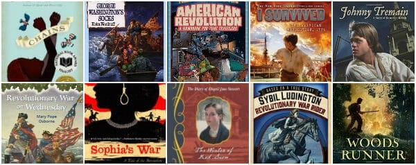 Historical Fiction Chapter Books About The (American) Revolutionary War