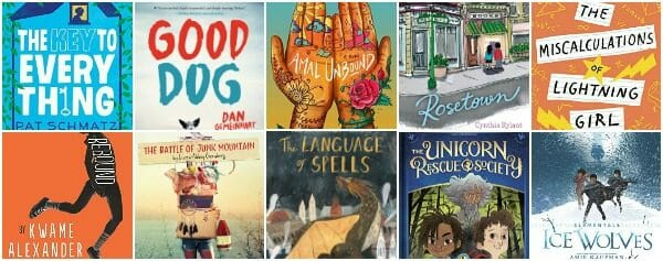 What's Good in New Middle Grade Books