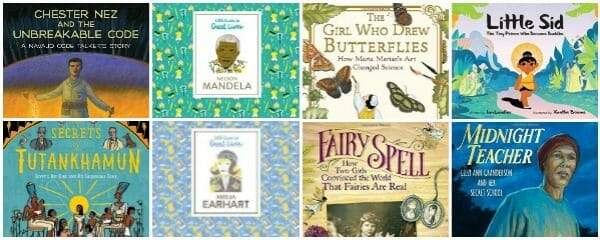 Latest Nonfiction Children's Book Biographies