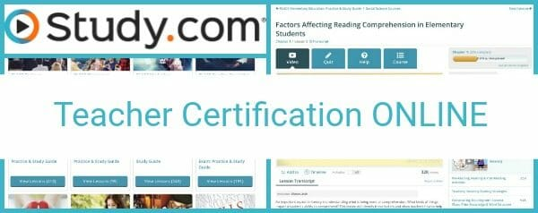 Online, Self-Paced Teacher Certification Classes and Exams at Study.com