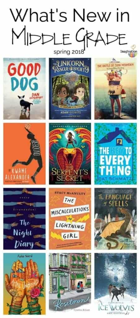 what's new in middle grade 2018