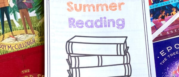 Free Summer Reading Printable Packet for Kids Ages 6 - 13