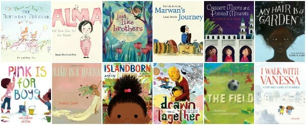 Spring 2018 Picture Books About Identity, Inclusion, and Diverse Cultures