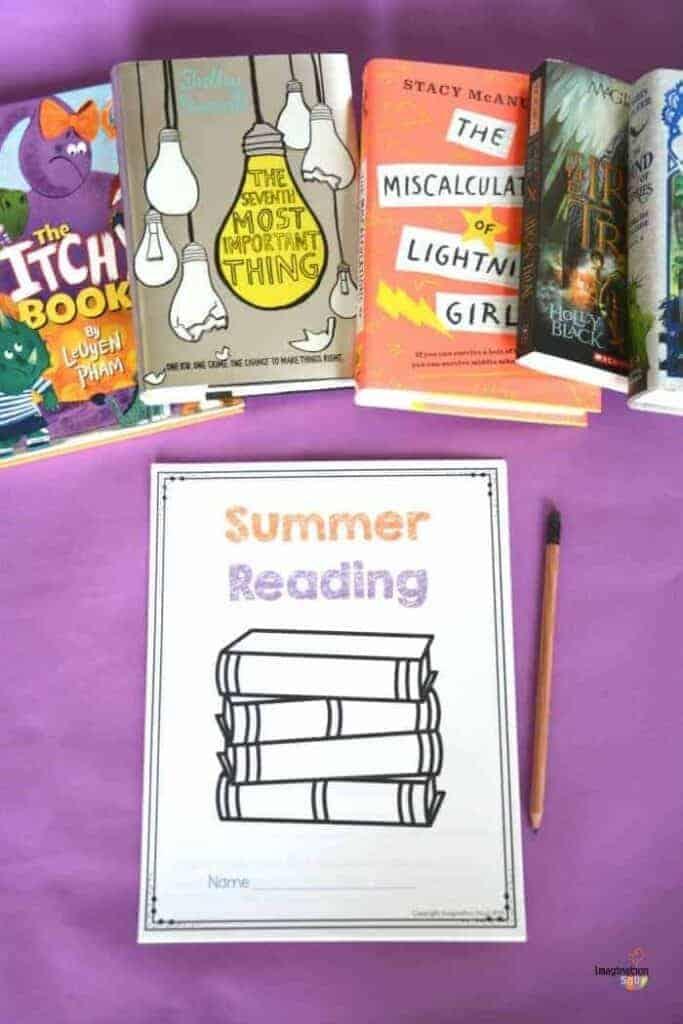 Summer Reading Printable for Kids