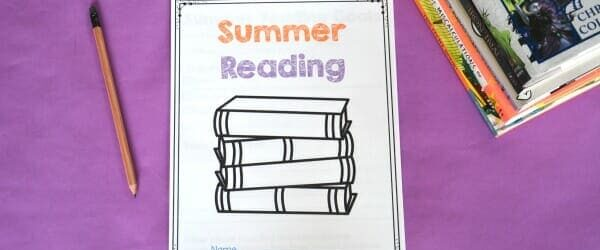 Free Summer Reading Printable Packet for Kids Ages 6 – 13