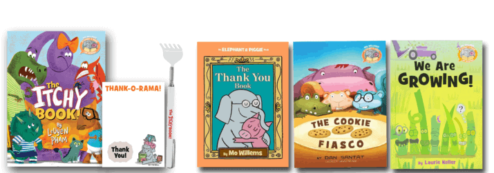 Elephant and Piggie Like Reading prize pack