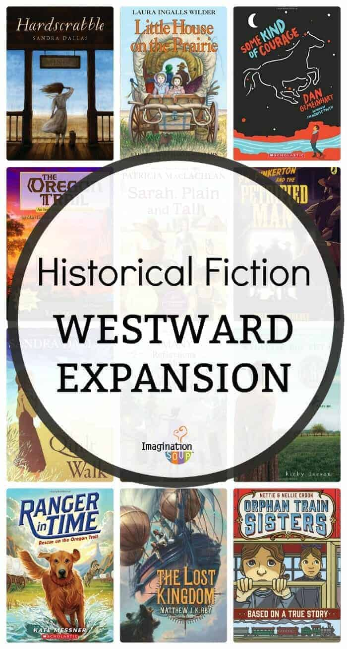 best historical fiction chapter books about westward expansion and life in the wild west