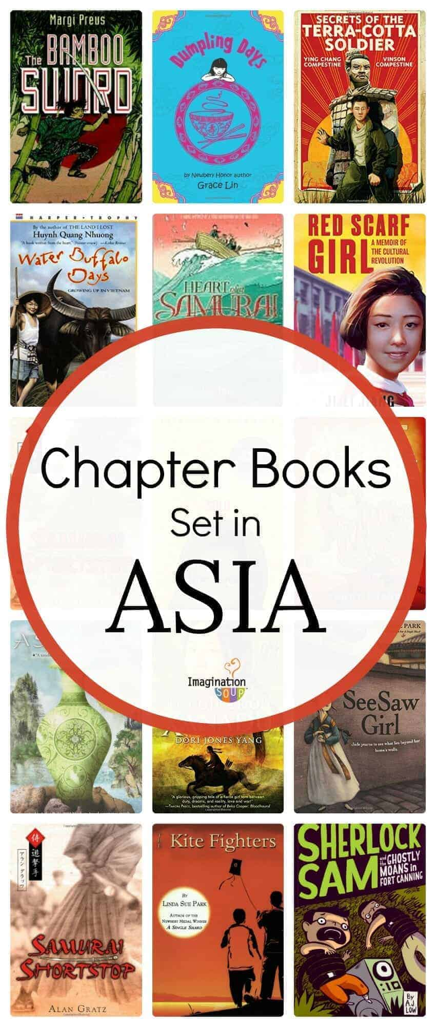 chapter books set in Asia (China, Japan, Korea, Hong Kong)