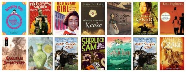 chapter books set in Asia (China, Japan, Mongolia, Taiwan, Korea)