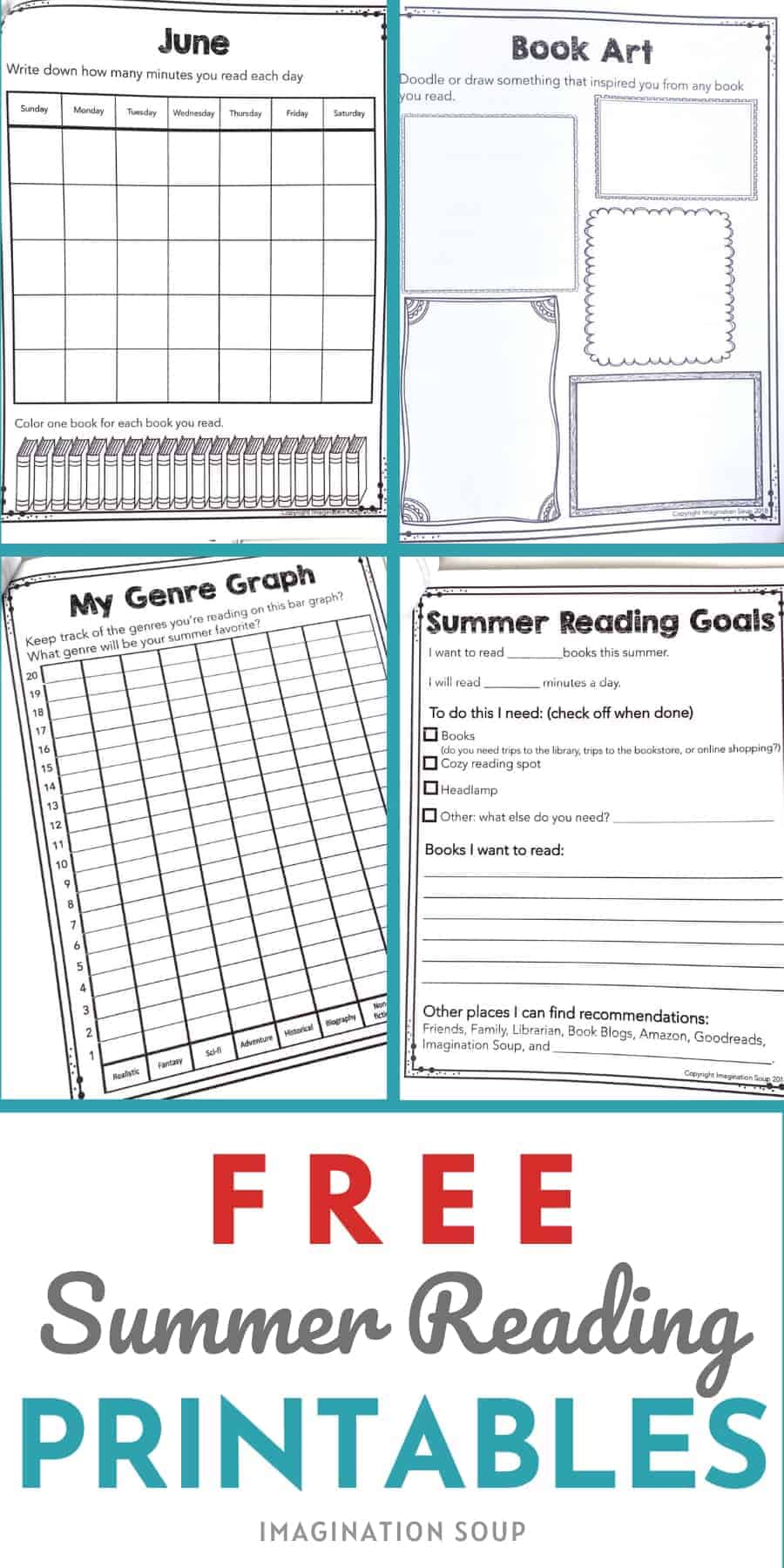 free summer printable for kids