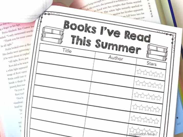 Free Summer Reading Printable Packet Free Download
