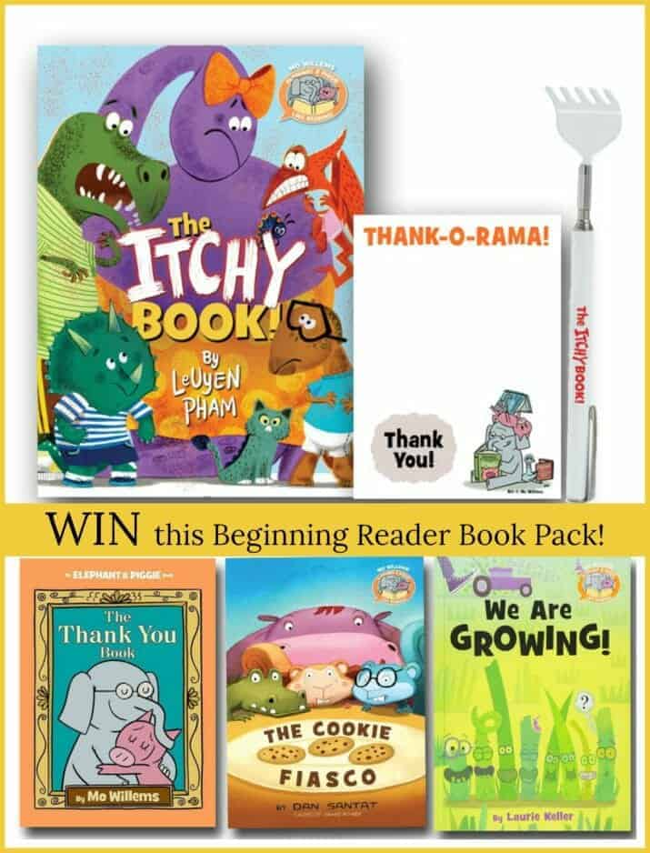 New Beginning Reader Series from Elephant and Piggie (+ Giveaway)