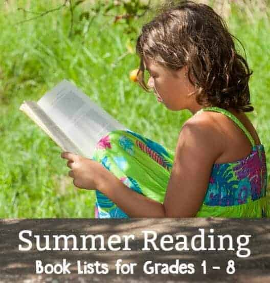 summer reading book lists by grade