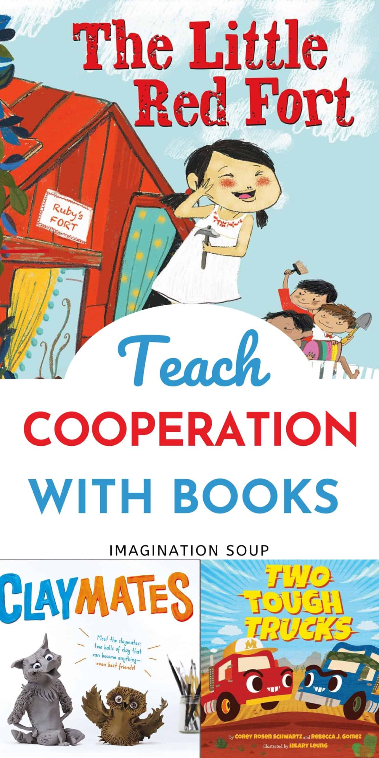 teach cooperation with picture books