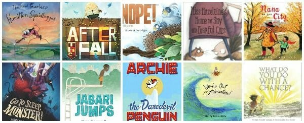 Bibliotherapy! 12 Picture Books About Facing Fears and Having Courage