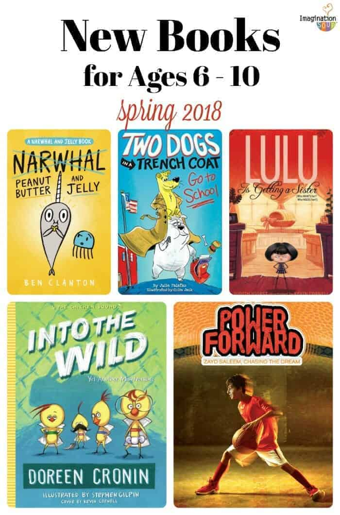 Have You Seen These New Beginning Chapter Books? 2018