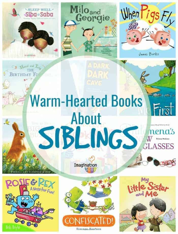 wonderful picture books about siblings