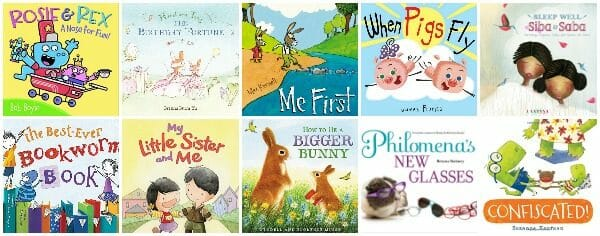 Warm-Hearted Picture Books About Siblings