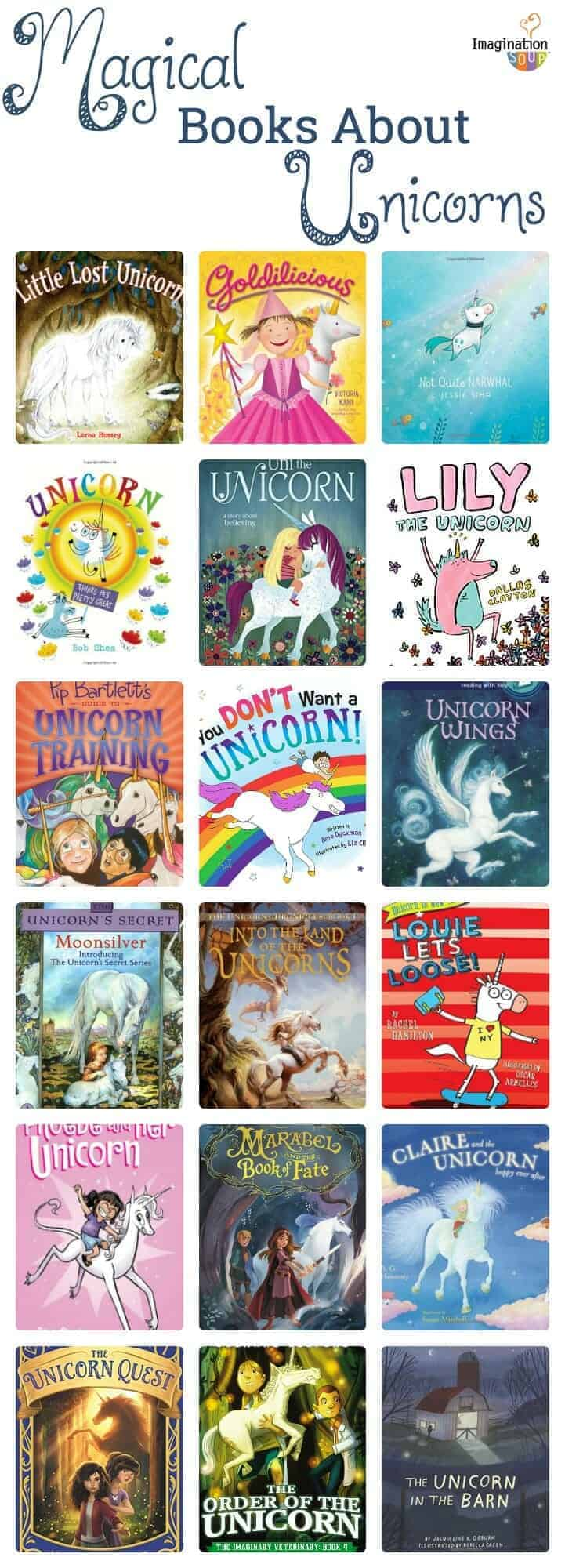 magical children's books about unicorns