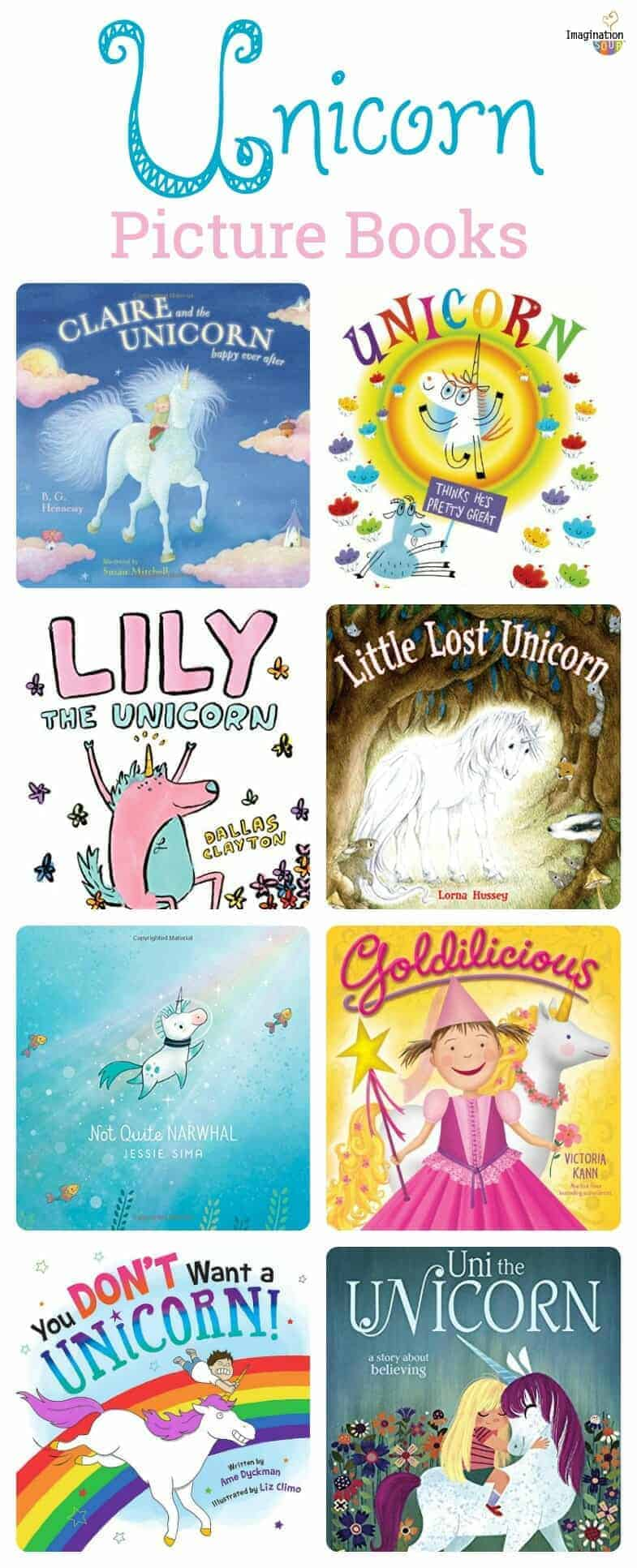 magical unicorn picture books