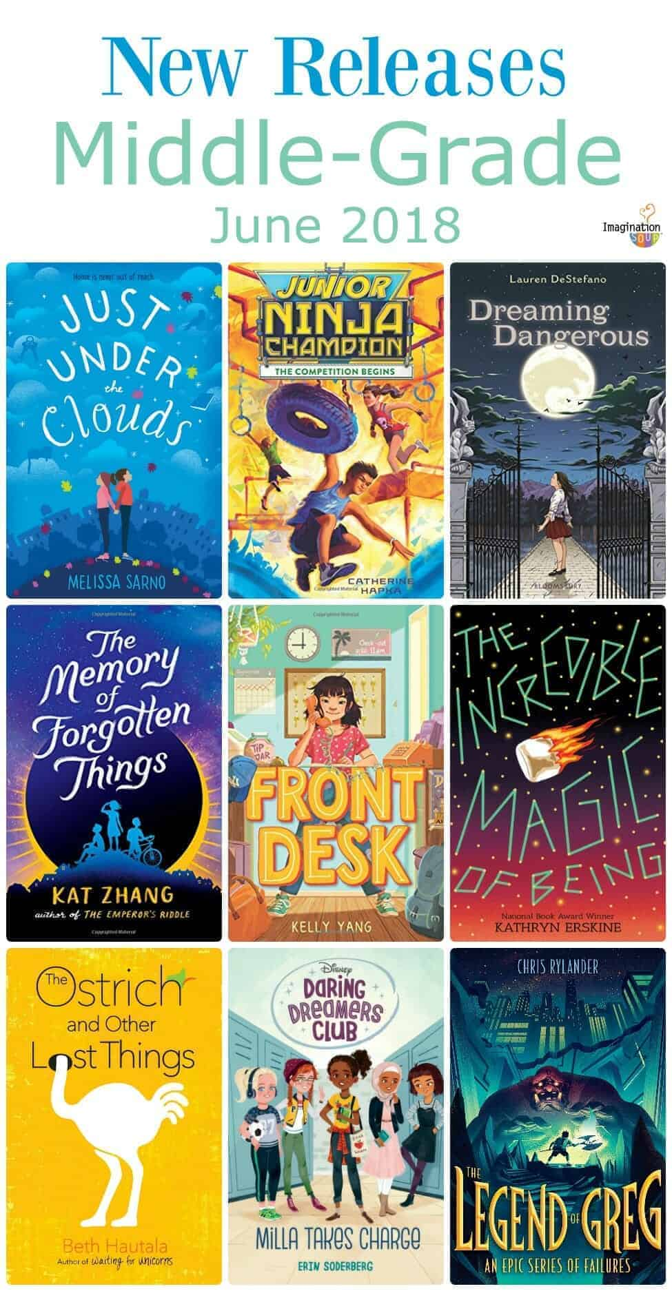new middle-grade books summer 2018
