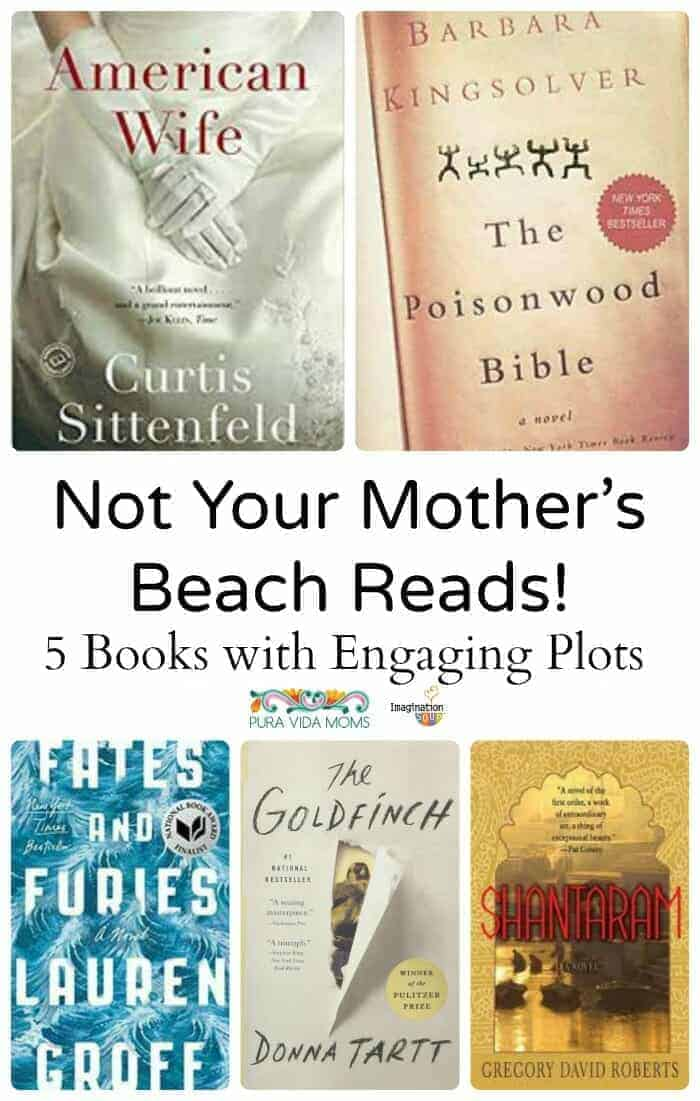 not your Mother's Beach Reads, these are engaging books with depth