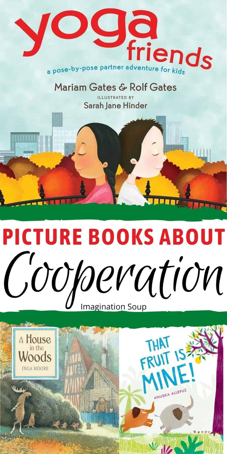 picture books about cooperation