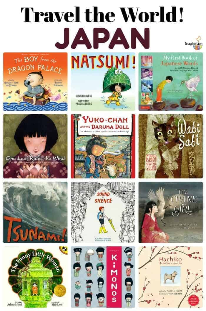 picture books about Japan and Japanese culture
