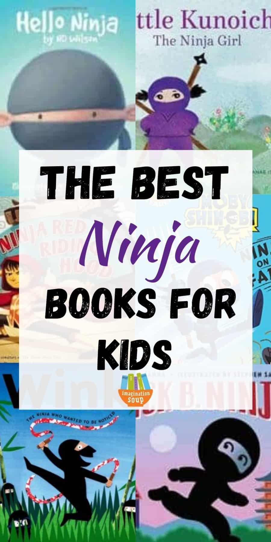 the best ninja books for kids