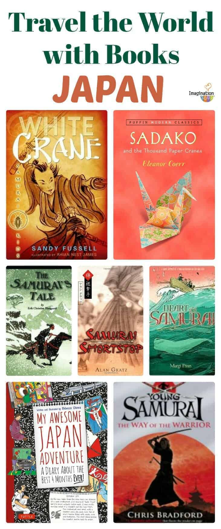 chapter books about Japan and Japanese culture